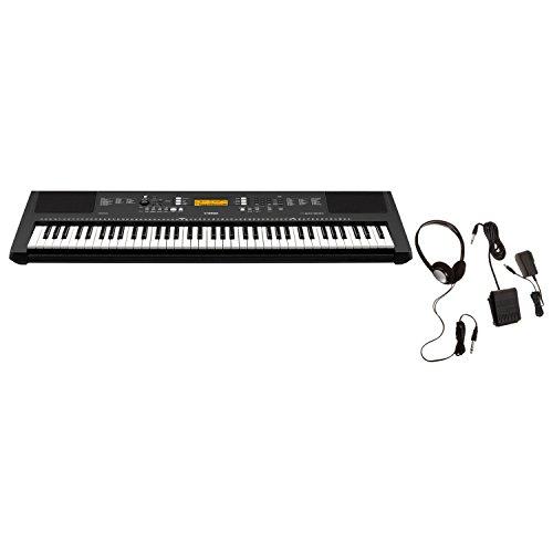 Yamaha PSR-EW300 KIT, 76 Key Touch Sensitive Keyboard with SK B2 Kit