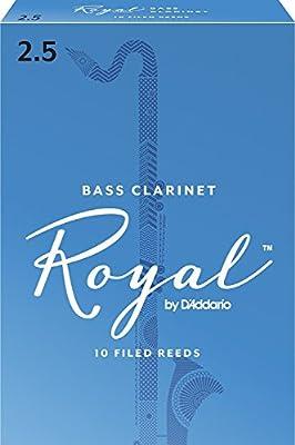 Rico Royal Bass Clarinet Reeds, 10-pack