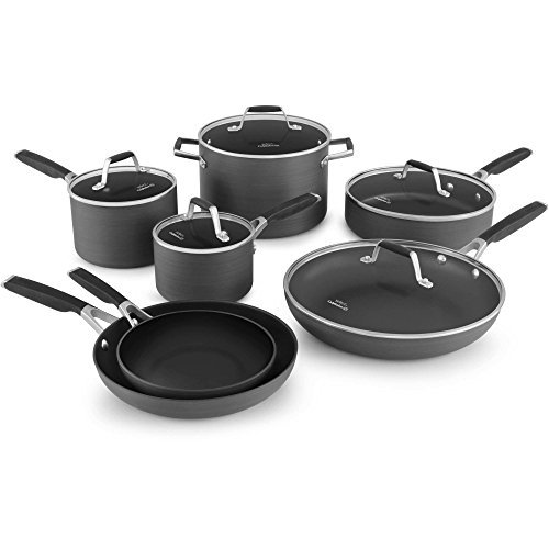 Calphalon Hard Anodized 12 Piece (Select by Calphalon 12 Piece Hard Anodized Non -stick)