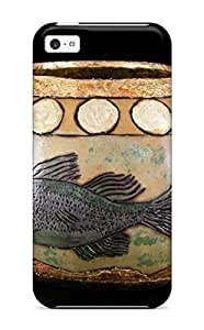 Anti-scratch And Shatterproof Gourd Art Phone Case For ipod touch4/ High Quality Tpu Case