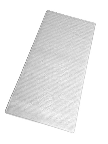Bath Mat - Non-Slip Natural Rubber - Extra Long & Extra Wide