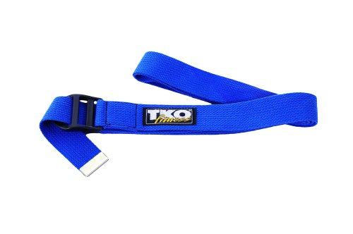 TKO Yoga Strap, Blue, 70'' by TKO