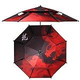 Anti-UV Foldable Foldable Fishing Umbrella with 200cm Bow Diameter