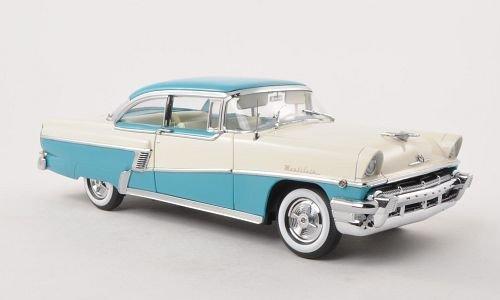 Mercury MontClair Hardtop, hell-blau/weiss , 1956, Modellauto, Fertigmodell, Sun Star 1:18