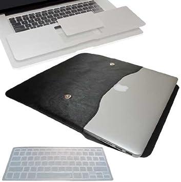"Black Case+Black Sleeve Bag A1465 Black Keyboard for 11.6/"" Macbook Air A1370"