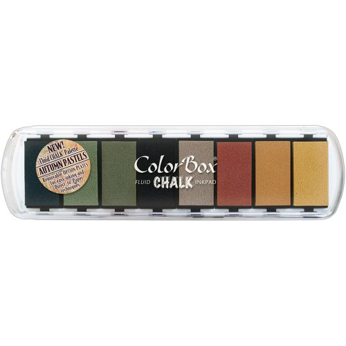 CLEARSNAP ColorBox Chalk Paintbox Inkpads Autumn Pastels ()
