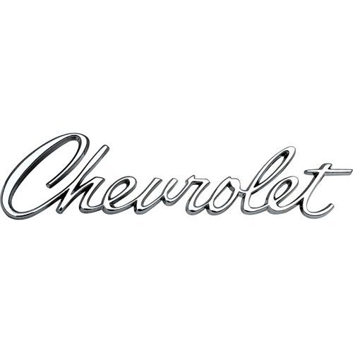 1967 'Chevrolet' Header/Trunk Emblem
