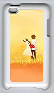 iPod 4 Cases & Covers - Lovers Dusk Desktop Custom PC Soft Case Cover Protector for iPod 4 - White