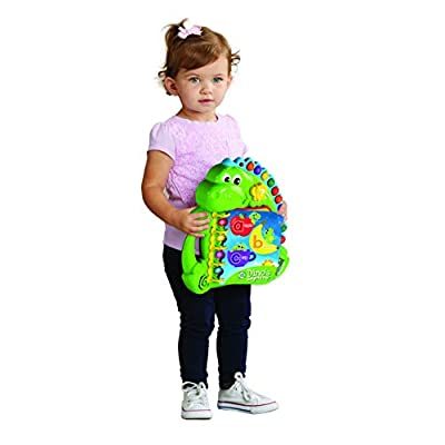 LeapFrog 600503 Dino's Delightful Day Baby Educational and Interactive Playbook Toy with Music & Sound Toddler and Pre School Book for Boys & Girls 1, 2, 3, 4+ Year Olds: Toys & Games