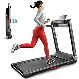Sportstech FX300 Ultra Slim Treadmill Easy-Folding+ No Assem...