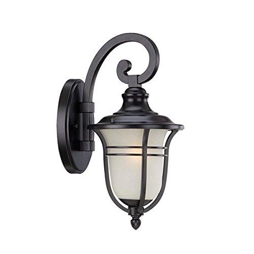 Cheap Acclaim 3652BK Montclair Collection 1-Light Wall Mount Outdoor Light Fixture, Matte Black