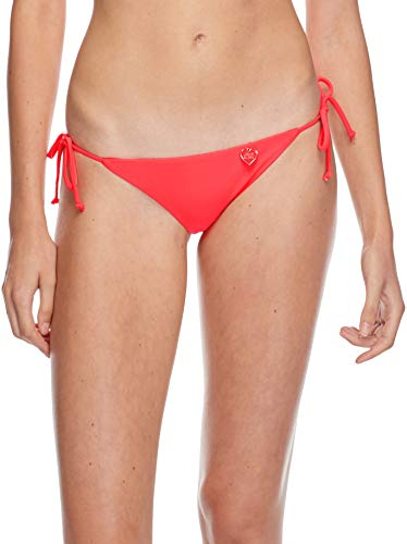 Body Glove Women's Smoothies Iris Solid Tie Side Bikini Bottom Swimsuit, Diva, - Tie Diva