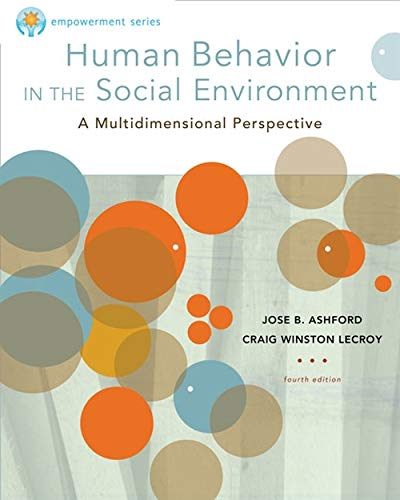 Brooks/Cole Empowerment Series: Human Behavior in the Social Environment (SW 327 Human Behavior and the Social Environment) from Brooks / Cole