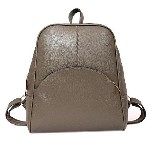Vibola Women Backpack Softback Bags School Style Bag Casual Teenagers Backpack (Gray)