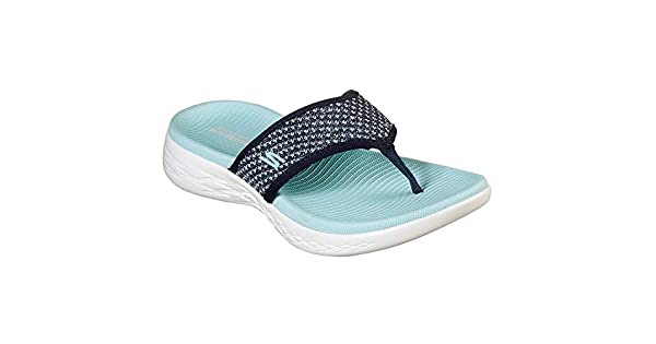 SKECHERS On The Go 600, Women's Slippers, Blue (NavyAqua