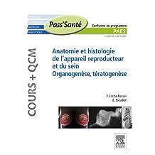 Anatomie et histologie de l'appareil reproducteur et du sein – Organogenèse, Tératogenèse (Cours + QCM) (French Edition)