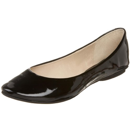 Kenneth Cole REACTION Women's Slip On By Ballet Flat,Blac...