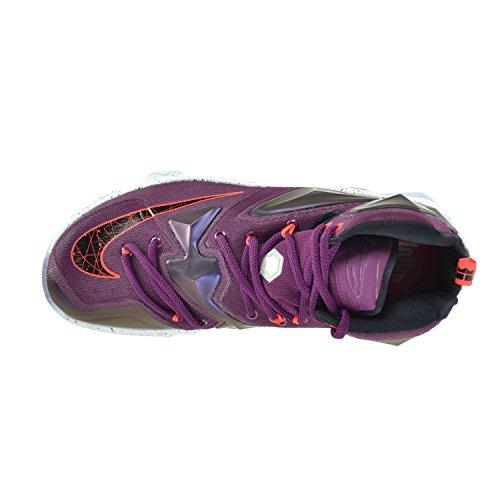 Nike Mens Lebron Xiii Scarpa Da Basket Gelso / Nero-viola Platino Viola Vivido