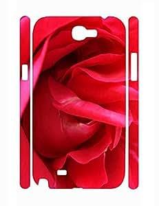 Creative Cute Flower Pattern Rugged Phone Aegis for Samsung Galaxy Note 2 N7100