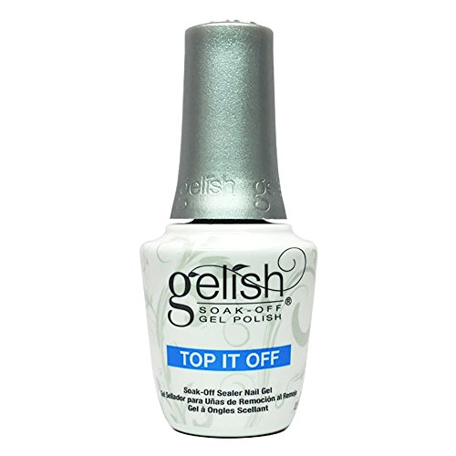 (Gelish soak off sealer gel top it off)