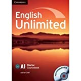 English Unlimited Starter Coursebook with E-Portfolio, Adrian Doff, 0521726336