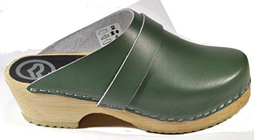 Verde Faggio Di Cuoio Soli Pattini Toffeln 47 Formato 310 Di 4Owd87q