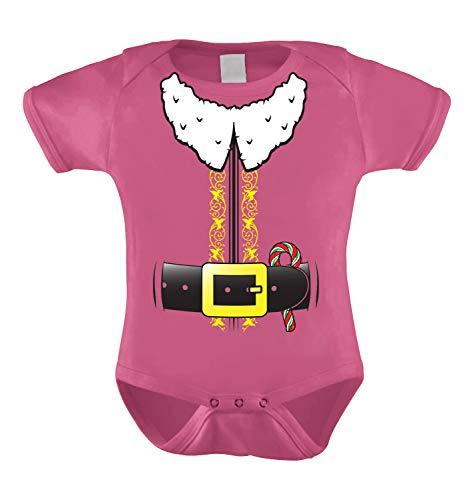 HAASE UNLIMITED Elf Costume Infant Bodysuit (Pink, 18 Months) ()