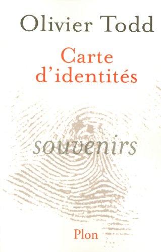 CARTE D IDENTITES