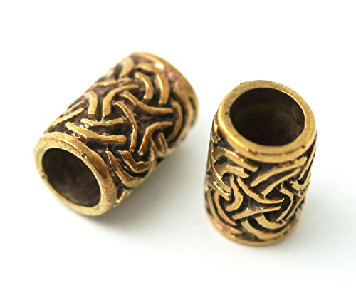 Bronze Dwarven Dreadlock Medieval Jewelry