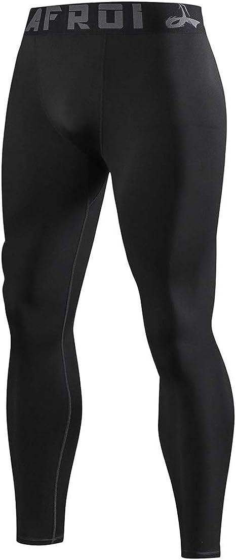 LAFROI YSK08 Herren Schnelltrocknende Kompressions-Leggings