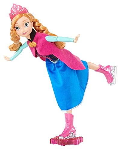 Disney Frozen Ice Skating Anna Doll image