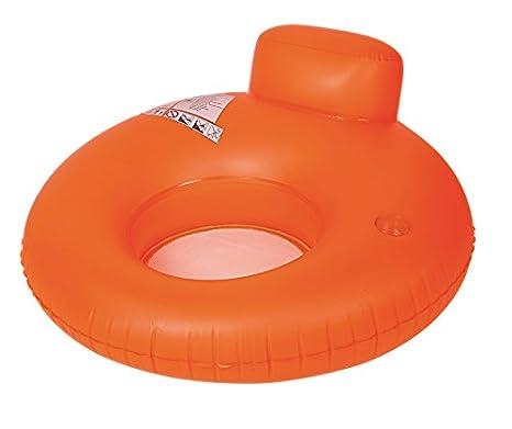Amazon.com: Piscina Naranja Neón sofá inflable piscina de ...