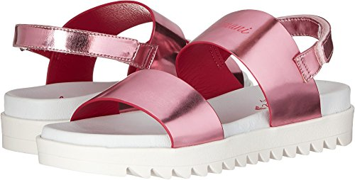 Price comparison product image Armani Junior Girl's Logo Sandal with Straps (Little Kid/Big Kid) Multi Sandal