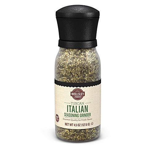 - Wellsley Farms Tuscan Italian Seasoning Grinder Kosher, 4.5 oz.