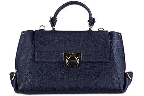 Salvatore Ferragamo Women's Sofia 21F606 Mirto Handbag
