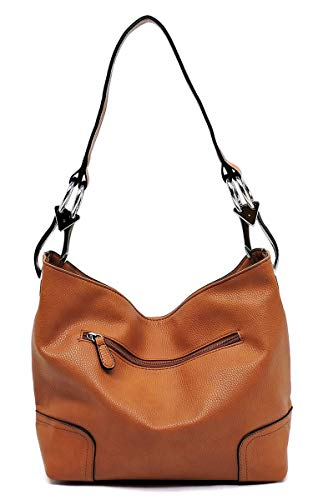 tan Shoulder Classic Purse Elphis Bucket Handbag Hobo Fashion O Bag aUq4n