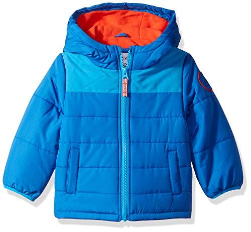 Carter's Baby Boys Adventure Bubble Jacket, House Bourne Blue, 24M
