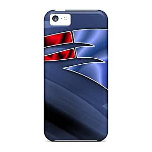 New Cute Funny New England Patriots Cases Covers/ Iphone 5c Cases Covers