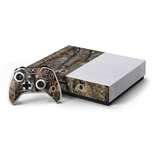 Controller Xbox Washington Redskins - Skinit NFL Washington Redskins Xbox One S Console and Controller Bundle Skin - Washington Redskins Realtree AP Camo Design - Ultra Thin, Lightweight Vinyl Decal Protection