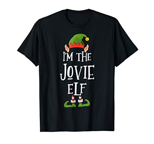 I'm the Jovie Elf Shirt - Funny Ugly Christmas -
