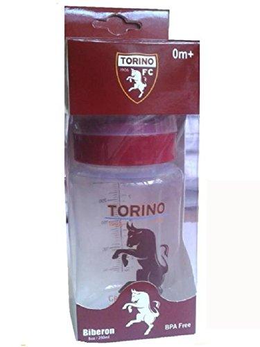 Calcio PS 00879 Biberon Neonato Wide Neck 250 ml Ufficiale Torino F.C