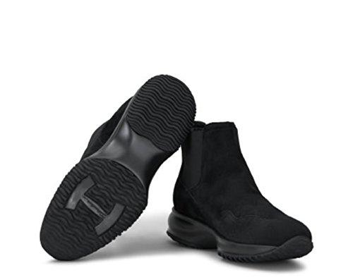 Hogan - Botas de Piel para mujer negro