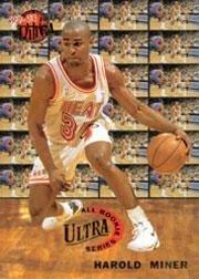 -Rookies Basketball Rookie Card (1992-93) #5 Harold Miner Mint ()