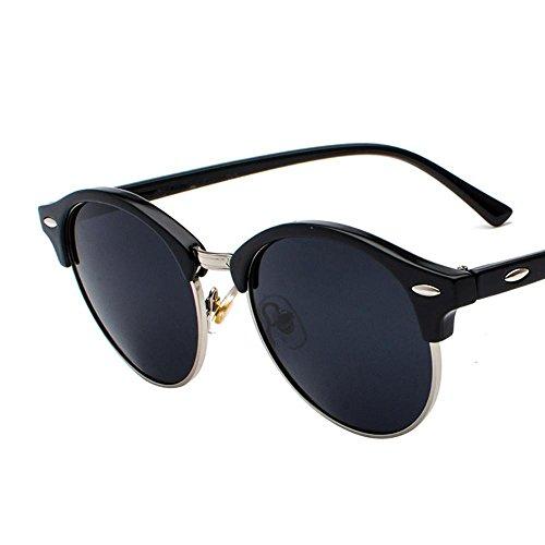 Aoligei Personnalité de Mesdames lunettes polarisée Audrey homme A