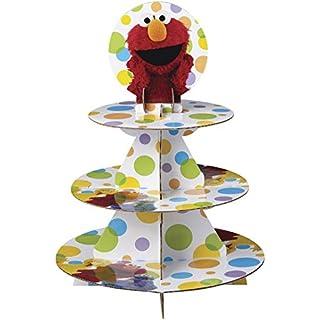 Wilton Sesame Street Cupcake Tower, Multicolor