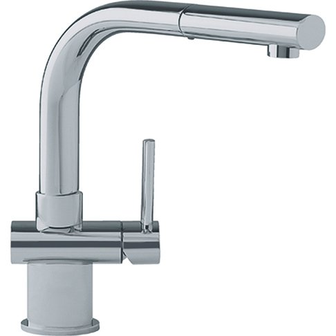 Franke FFP1080 Single-Handle Pull-Out Spray Kitchen Faucet, Satin Nickel