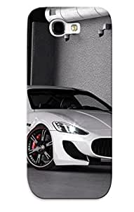 Crazinesswith Durable 2013 Wheelsandmore Maserati Granturismo Back Case/ Cover For Galaxy Note 2 For Christmas' Gifts