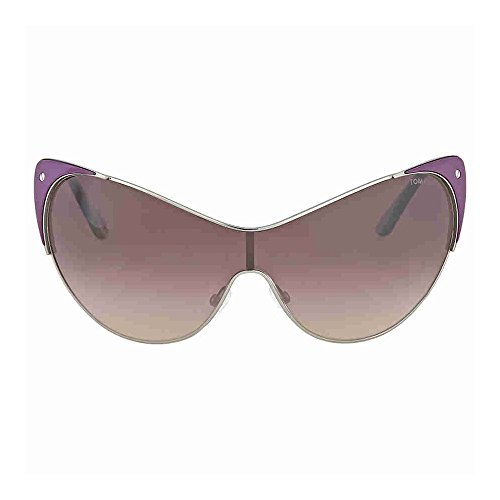 Tom Ford Women's TMF-SUNG-FT0364-80Z-0 Designer Sunglasses, - Sunglasses Tom Purple Ford