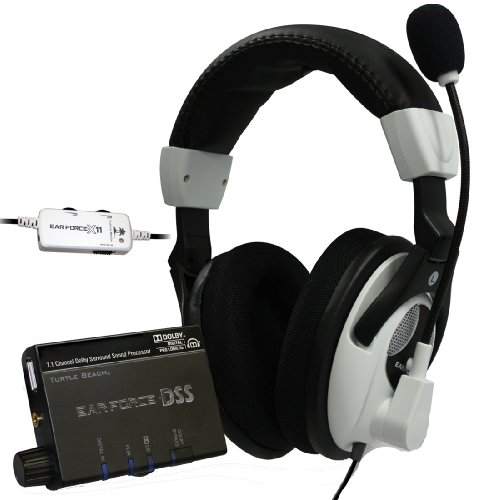 turtle-beach-ear-force-dx11-71-dolby-surround-sound-headset-bundle-for-xbox-360-w-x11-headset-ear-fo