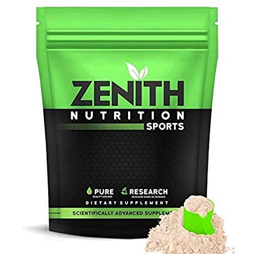Zenith Nutrition Whey Protein with Enzymes for Digestion | 26g protein (Kesar Kulfi, 525gms)